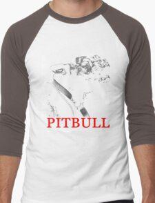 american pit bull Men's Baseball ¾ T-Shirt
