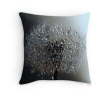 Between The Light and Shadows Throw Pillow
