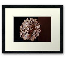 Nature Man Framed Print