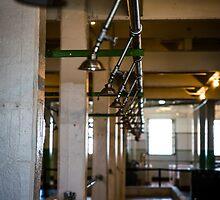 Alcatraz Prison Shower by Reese Ferrier