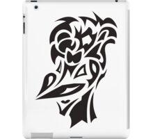 smiling bird tattoo iPad Case/Skin