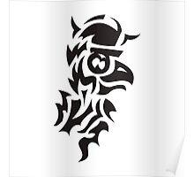 bird viking tattoo Poster