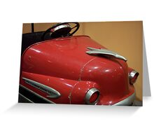 Red Bumper Greeting Card