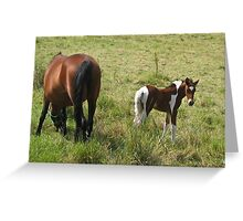 Mother and Baby are Doing Fine Greeting Card
