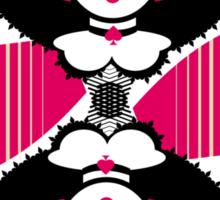Queen of espades Sticker