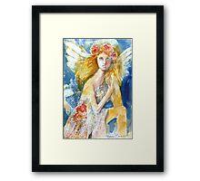 Angel in Waiting Framed Print
