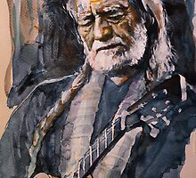 Willie Nelson by lauiduc