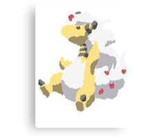 Ben's Mega Ampharos (No outline) Canvas Print