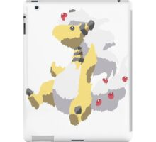 Ben's Mega Ampharos (No outline) iPad Case/Skin