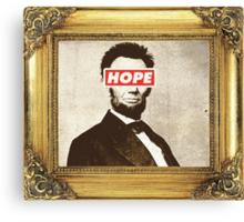 Lincoln Hope Canvas Print