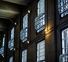 Alcatraz Prison Windows by Reese Ferrier