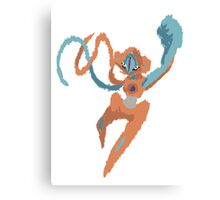 Owain's Deoxys (No outline) Canvas Print