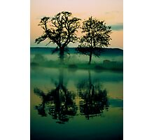 Twilight Lake Photographic Print