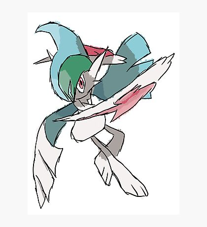Rhys' Mega Gallade Photographic Print