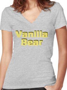 Scrubs Vanilla Bear Women's Fitted V-Neck T-Shirt