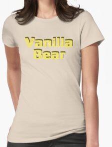 Scrubs Vanilla Bear Womens Fitted T-Shirt