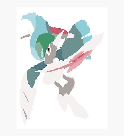 Rhys' Mega Gallade (No outline) Photographic Print