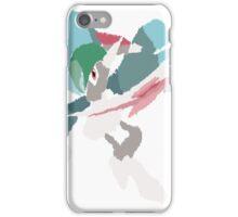 Rhys' Mega Gallade (No outline) iPhone Case/Skin