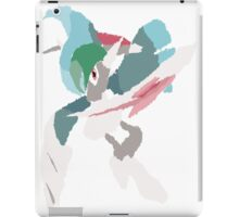 Rhys' Mega Gallade (No outline) iPad Case/Skin