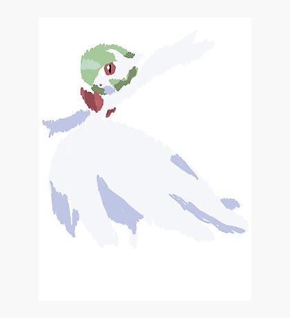 Rhys' Mega Gardevoir (No outline) Photographic Print