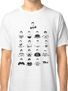 The Greatest Riders - Bici* Legendz Collection Classic T-Shirt