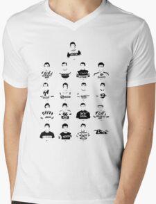 The Greatest Riders - Bici* Legendz Collection Mens V-Neck T-Shirt