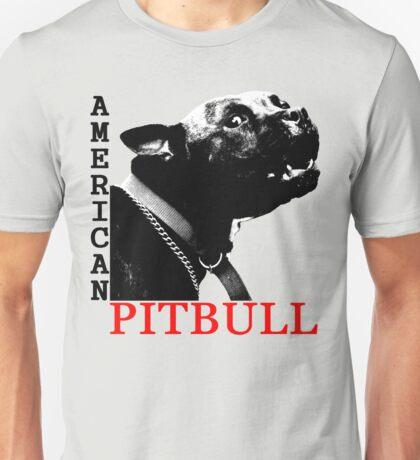 american pitbull terrier Unisex T-Shirt
