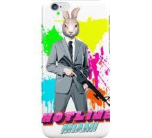 Hotline Miami - Graham the Rabbit Mask iPhone Case/Skin