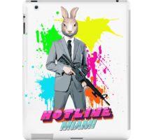Hotline Miami - Graham the Rabbit Mask iPad Case/Skin