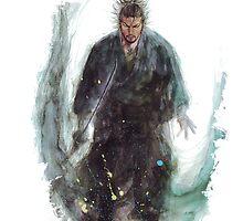 Vagabond - Musashi Miyamoto by Onimihawk