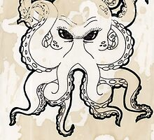 Octopus Stain by Badlynrolfe