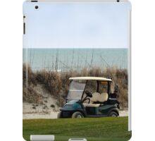 Golf Cart, The Ocean Course, Kiawah Island, South Carolina iPad Case/Skin
