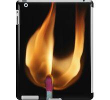 Match Flame iPad Case/Skin