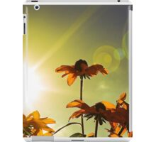 Golden Flowers iPad Case/Skin