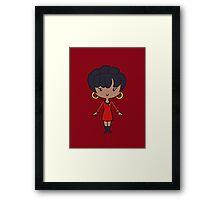 Uhura - Lil' CutiE Framed Print