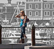 At the waterfront by awefaul
