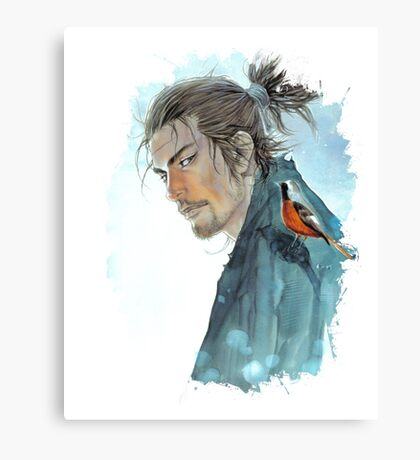Vagabond - Musashi Miyamoto Canvas Print