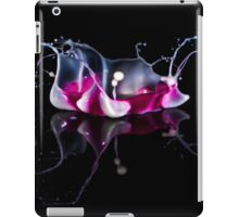 White, pink and red iPad Case/Skin