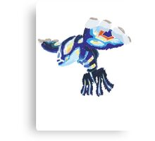 Becca's Primal Kyogre (No outline) Canvas Print