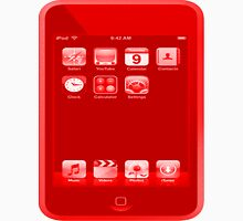 Red Ipod Touch Unisex T-Shirt