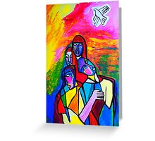 The White Dove Greeting Card