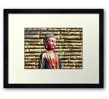 Asia Buddha Framed Print