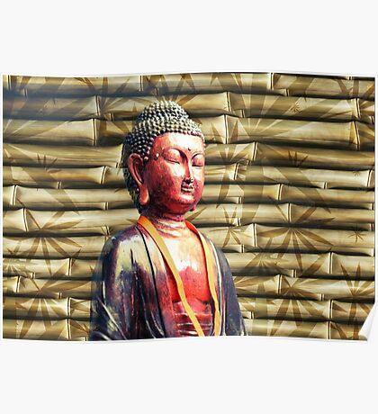 Asia Buddha Poster