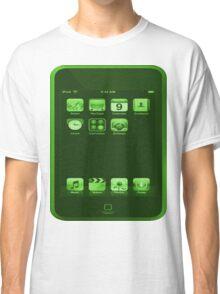 Green iPod Touch Classic T-Shirt