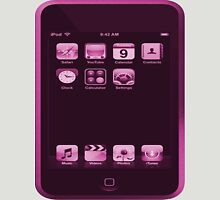 Pink iPod Touch Unisex T-Shirt