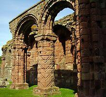 HOLY ISLAND, Lindisfarne Abbey by tonymm6491