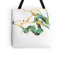 Owain's Mega Rayquaza (No outline) Tote Bag