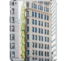 Green Balconies on Classic Architecture iPad Case/Skin