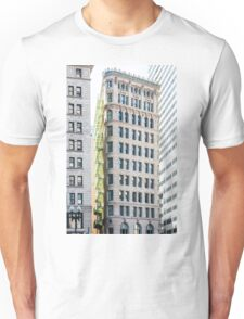 Green Balconies on Classic Architecture Unisex T-Shirt