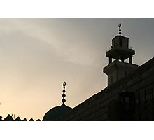Mosque Photographic Print